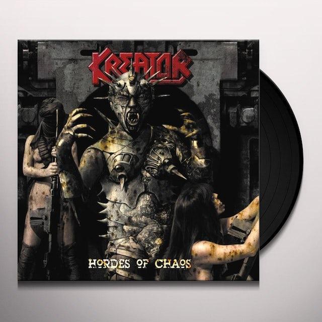 Kreator HORDES OF CHAOS Vinyl Record