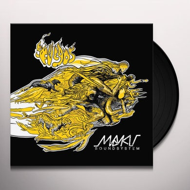 M.A.K.U. SOUNDSYSTEM 5 FUEGOS Vinyl Record