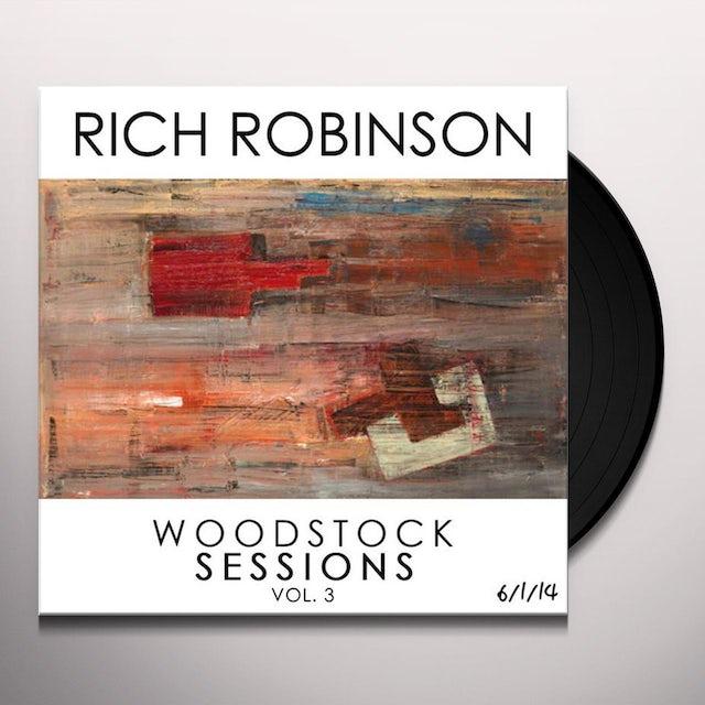 Rich Robinson WOODSTOCK SESSIONS Vinyl Record