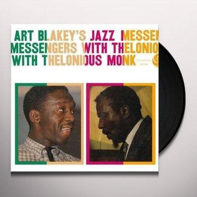 ART BLAKEYS JAZZ MESSENGERS WITH THELONIOUS MONK Vinyl Record