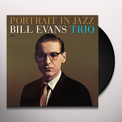 Bill Evans PORTRAIT IN JAZZ (BONUS TRACK) Vinyl Record - 180 Gram Pressing