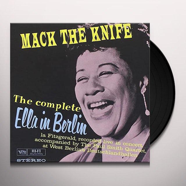 Ella Fitzgerald MACK THE KINFE: ELLA IN BERLIN (BONUS TRACKS) Vinyl Record