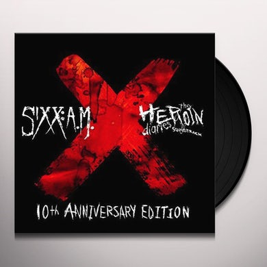 Sixx:A.M. Heroin Diaries Soundtrack: 10th Anniversary Edition Vinyl Record