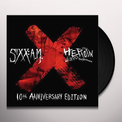 Sixx:A.M. HEROIN DIARIES SOUNDTRACK: 10TH ANNIVERSARY ED Vinyl Record