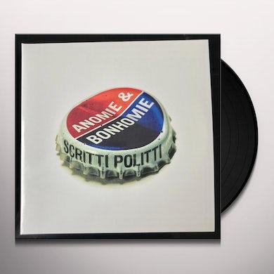 Anomie & Bonhomie Vinyl Record