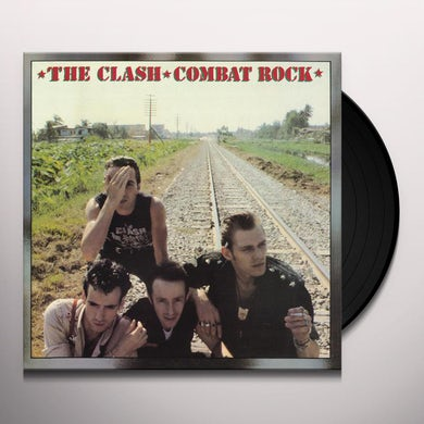 The Clash COMBAT ROCK Vinyl Record