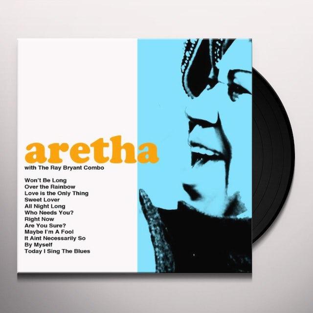 Aretha Franklin / Ray Combo Bryant ARETHA Vinyl Record