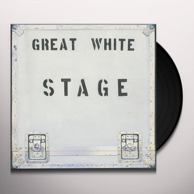 Great White STAGE Vinyl Record