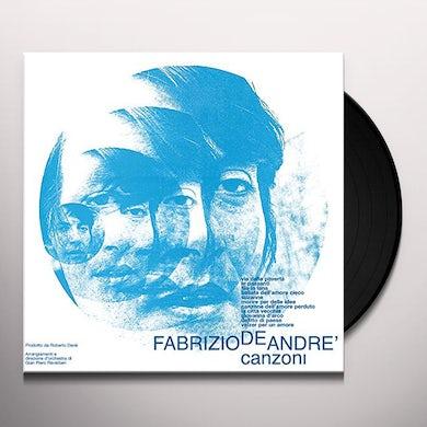 Fabrizio De Andre CANZONI Vinyl Record