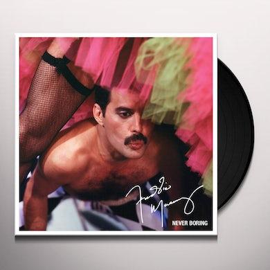 Freddie Mercury NEVER BORING Vinyl Record