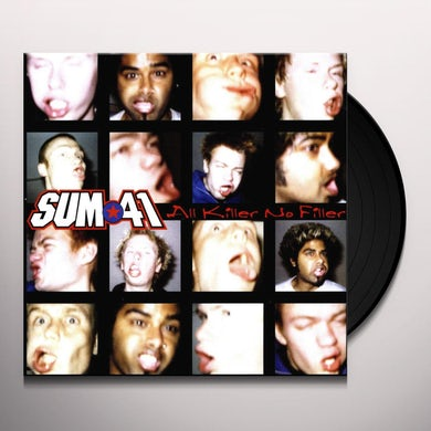 Sum 41   ALL KILLER NO FILLER Vinyl Record