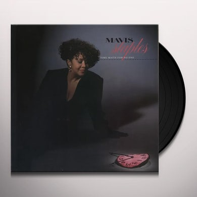 Mavis Staples TIME WAITS FOR NO ONE Vinyl Record - Sweden Release