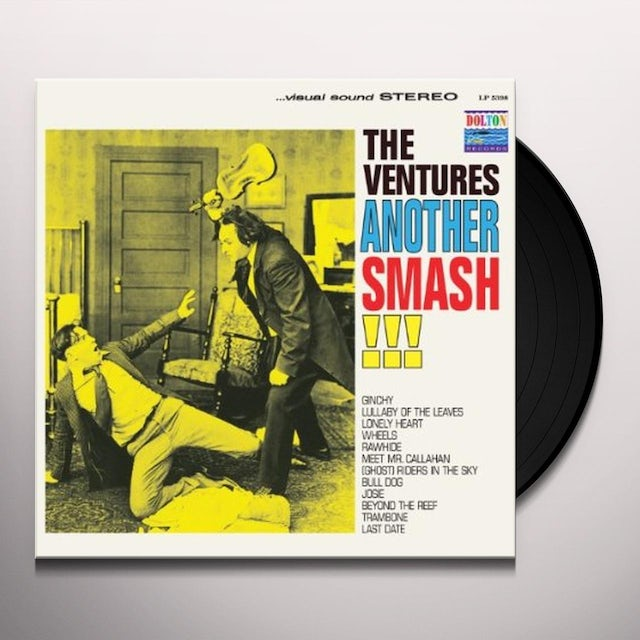 Ventures ANOTHER SMASH Vinyl Record