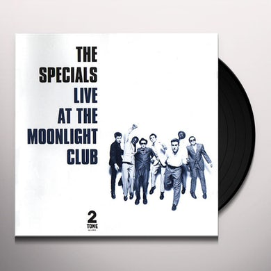 The Specials LIVE AT THE MOONLIGHT CLUB Vinyl Record