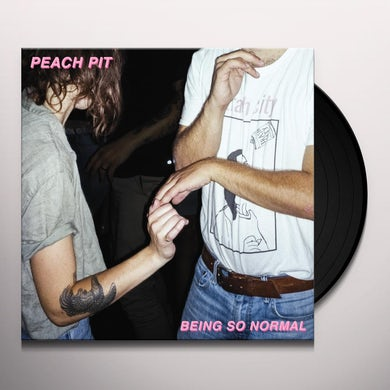 Peach Pit BEING SO NORMAL Vinyl Record