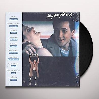 Say Anything / O.S.T. SAY ANYTHING / Original Soundtrack Vinyl Record