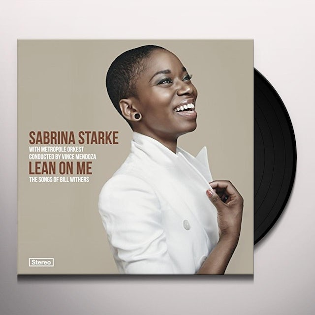 Sabrina Starke LEAN ON ME: SONGS OF BILL WITHERS Vinyl Record