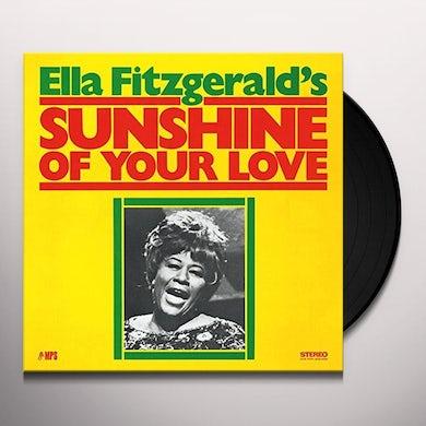 Ella Fitzgerald SUNSHINE OF YOUR LOVE Vinyl Record