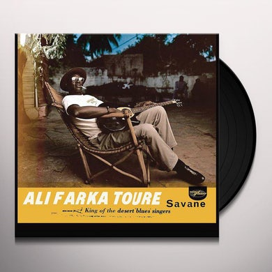 Ali Farka Toure SAVANE Vinyl Record
