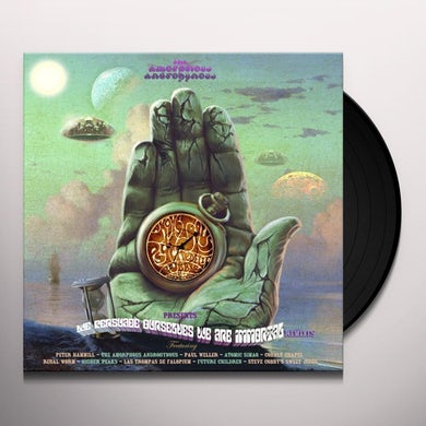 Amorphous Androgynous MONSTER PSYCHEDELIC BUBBLE Vinyl Record