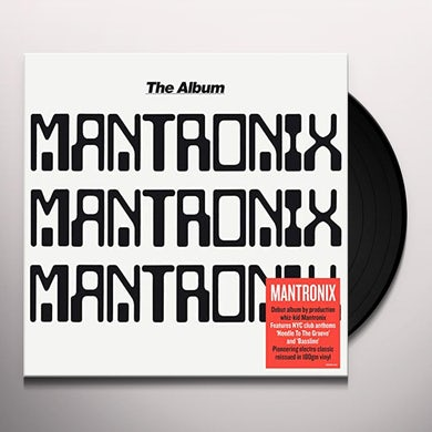 Mantronix ALBUM Vinyl Record