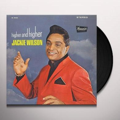 Jackie Wilson HIGHER & HIGHER Vinyl Record