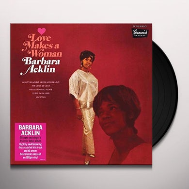 LOVE MAKES A WOMAN Vinyl Record