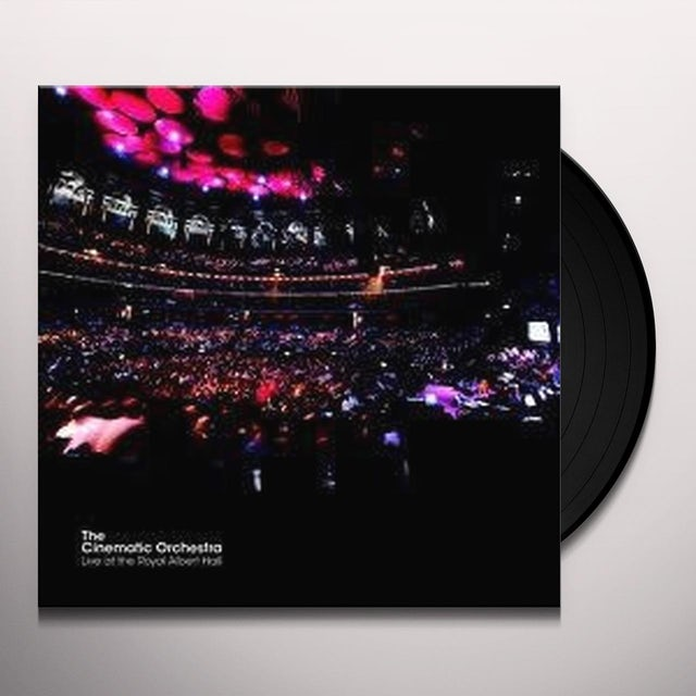 The Cinematic Orchestra LIVE AT THE ROYAL ALBERT HALL Vinyl Record