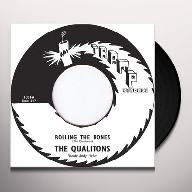 The Qualitons ROLLING THE BONES Vinyl Record