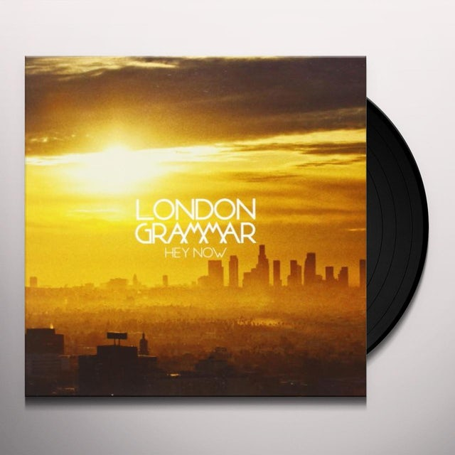 London Grammar HEY NOW Vinyl Record