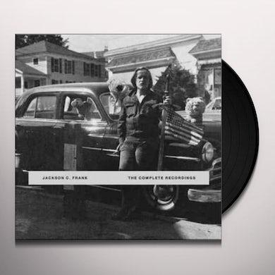 Jackson C. Frank COMPLETE RECORDINGS VOL. 1 Vinyl Record
