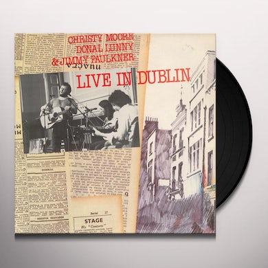 Christy Moore LIVE IN DUBLIN Vinyl Record