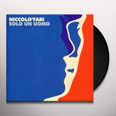 Niccolo Fabi SOLO UN UOMO Vinyl Record
