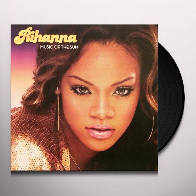 Rihanna MUSIC OF THE SUN Vinyl Record
