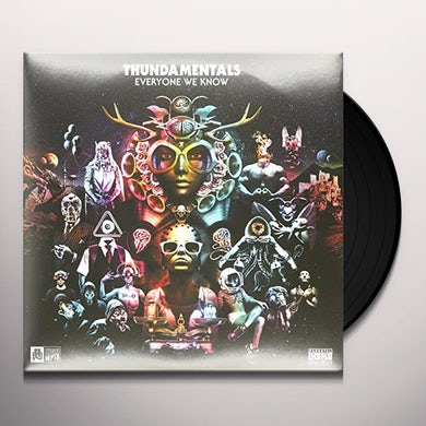 Thundamentals EVERYONE WE KNOW (LIMITED EDITION COLORED VINYL) Vinyl Record