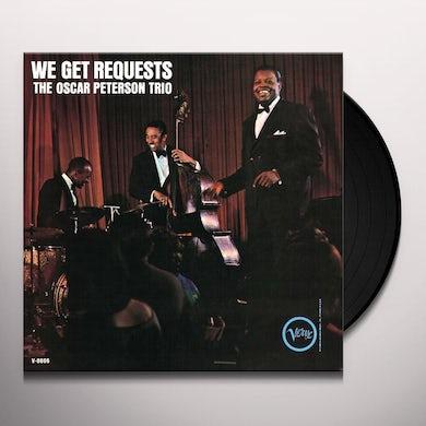 Oscar Peterson WE GET REQUESTS Vinyl Record