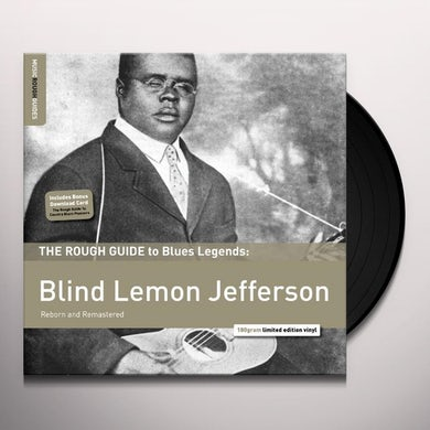 ROUGH GUIDE TO BLIND LEMON JEFFERSON Vinyl Record