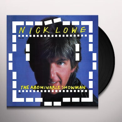 Nick Lowe ABOMINABLE SHOWMAN Vinyl Record