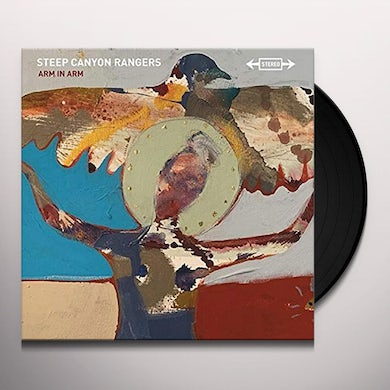 Steep Canyon Rangers Arm In Arm (First Edition Paint Splatter Vinyl Record