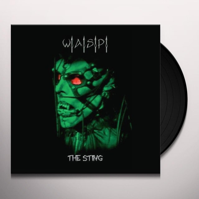 W.A.S.P STING-LIVE IN LOS ANGELES Vinyl Record