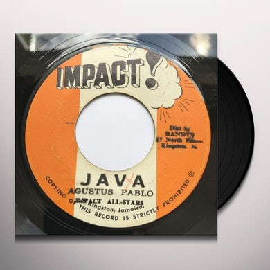 Augustus Pablo JAVA Vinyl Record