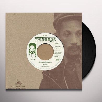 Augustus Pablo AMMAGIDDEON DUB Vinyl Record