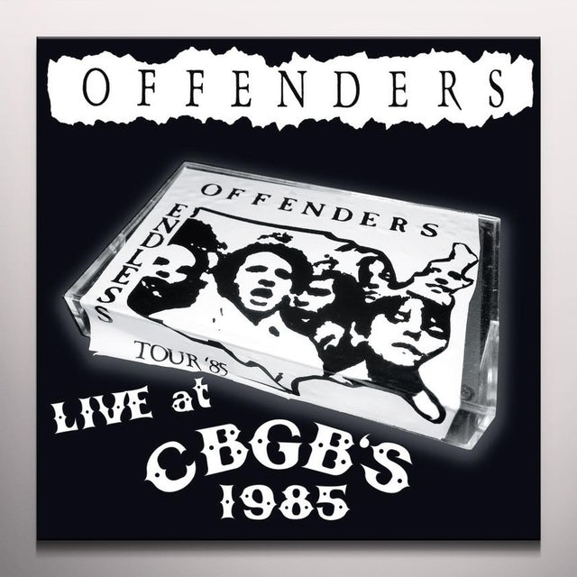 Offenders LIVE AT CBGB'S 1985 Vinyl Record - Green Vinyl, Limited Edition