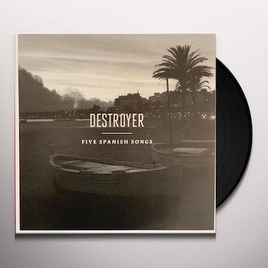 Destroyer FIVE SPANISH SONGS Vinyl Record