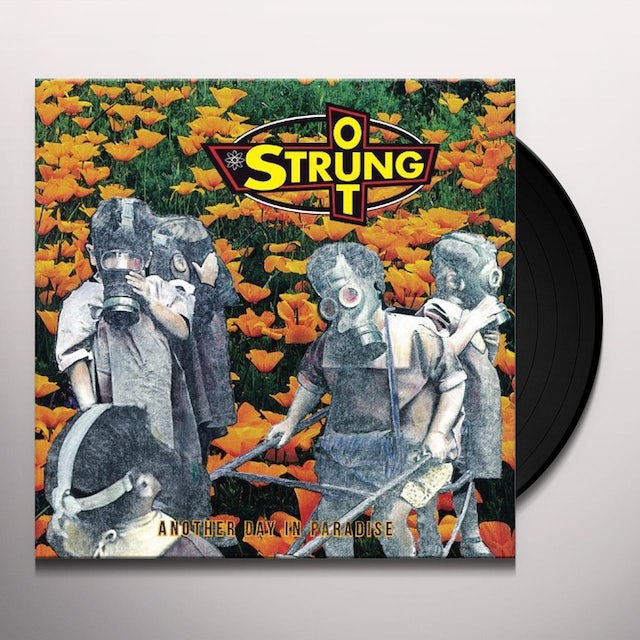 Strung Out ANOTHER DAY IN PARADISE Vinyl Record
