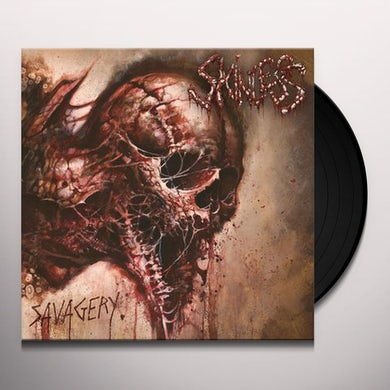 Skinless SAVAGERY Vinyl Record