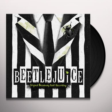 Eddie Perfect BEETLEJUICE (ORIGINAL BROADWAY CAST RECORDING) Vinyl Record