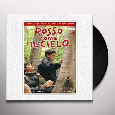 Ezio Bosso ROSSO COME IL CIELO / O.S.T. Vinyl Record