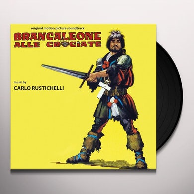Carlo Rustichelli BRANCALEONE ALLE CROCIATE / O.S.T. Vinyl Record