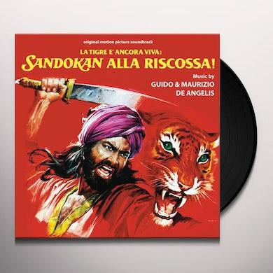 TIGRE ANCORA VIVA: SANDOKAN ALLA RISCOSSA / Original Soundtrack Vinyl Record